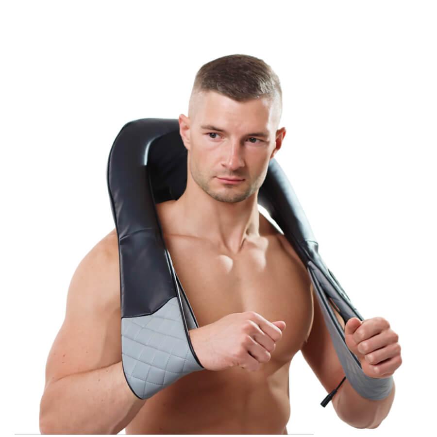 Использование массажера для шеи массажер спины электрическим током